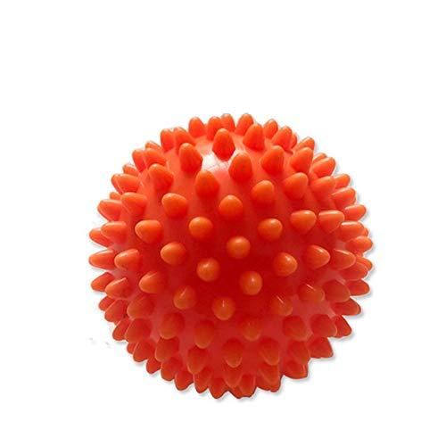 Massagegebälle Fitness Aids Yoga Faszien Partikel 2er Pack, Orange