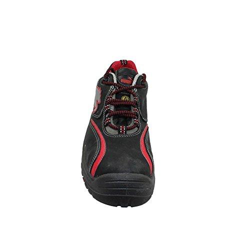Puma chaussures de sécurité s2 sRC chaussures berufsschuhe businessschuhe plat chaussures noir Noir - Noir