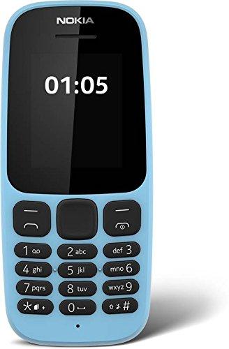 Nokia 105 Dual Sim (Black/Blue)