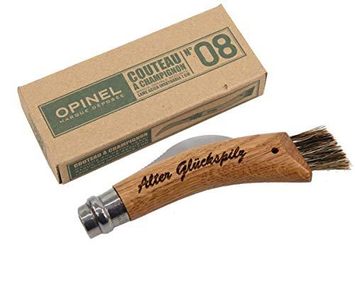 Opinel Pilzmesser, Tolles Geschenk für Pilzsammler, Pilz Messer mit Gravur