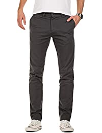 Yazubi Herren Chino Hose, Slim Fit, Modell Kyle, Chinohose by YZB Jeans