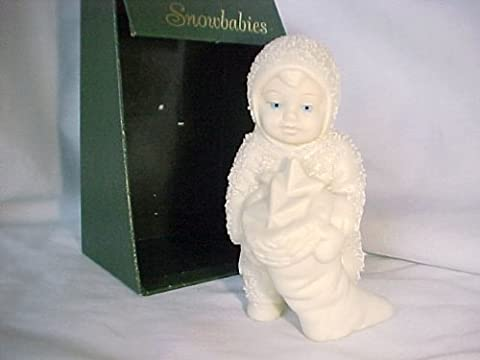 1988 Snowbabies 7977-4 - Snowbaby Holding Stocking - Are All