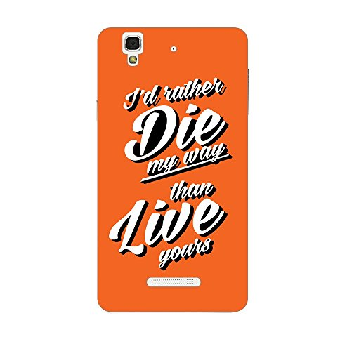 Happoz Micromax Yu Yureka Cases Back Cover Mobile Pouches Shell Hard Plastic Graphic Armour Premium Printed Designer Cartoon Girl 3D Funky Fancy Slim Graffiti Imported Cute Colurful Stylish Boys D346