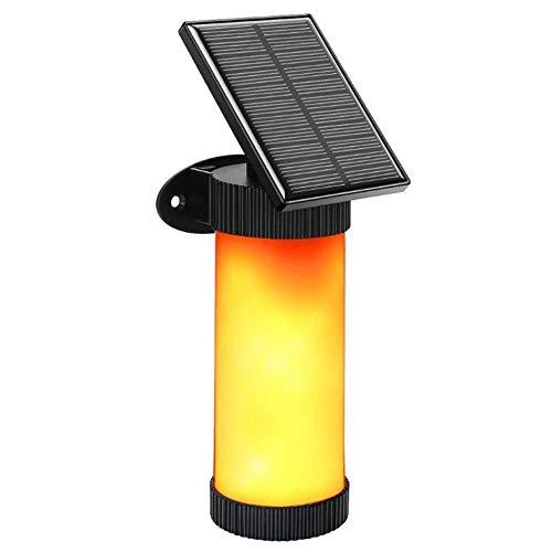 Birne Led Outdoor Laterne (FOONEE Solar-Flammenlichter, LED-Flammen-Effekt, Flackerndes Feuerlicht für Weihnachten, Zuhause, Hotel, Bar, Festival-Dekoration 1 Pcs)
