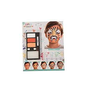 My Other Me Me-207072 Kit Maquillaje Infantil Tigre, Talla única (Viving Costumes 207072)