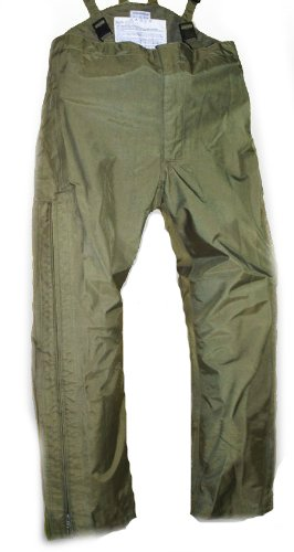 german-army-issue-goretex-waterproof-trouser-plain-olive-with-thermal-liner