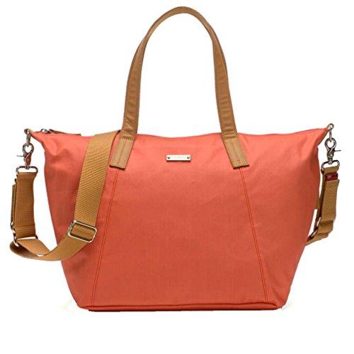 Preisvergleich Produktbild Storksak Wickeltasche Noa Coral (Koralle) inkl. Mini Bag