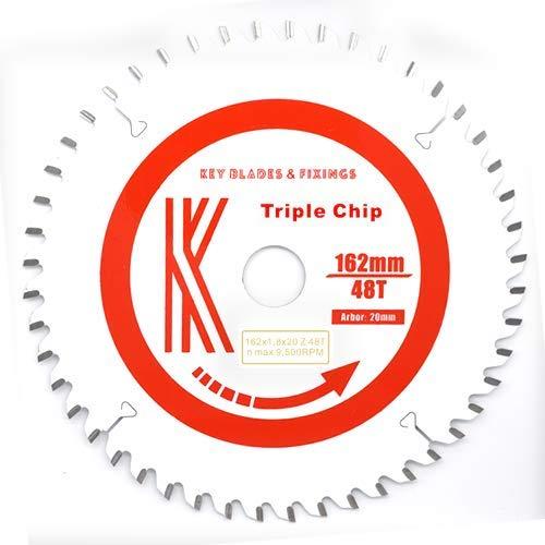 Triple Chip 162 mm x 1,8 mm x 48T (Triple-chip-sägeblatt)