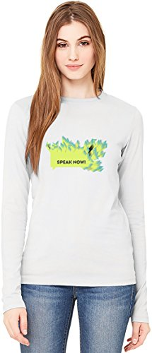 Speak Now Slogan Long-Sleeve T-shirt For Women| 100% Premium Cotton| DTG Printing| Unique & Custom Robes, Skirts, Vests & Women's Fashion Clothing by Wicked Wicked