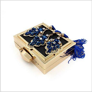 WZW Damen Spezielle Werkstoff Alltag / Veranstaltung / Fest Unterarmtaschen / Abendtasche Blue