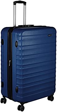 AmazonBasics 78 cm Navy Blue Hardsided Check-in Trolley
