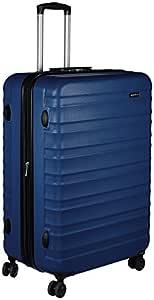 AmazonBasics 78 cm Navy Blue Hardsided Check-in Trolley
