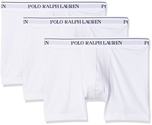 rren Boxer Brief Boxershorts, Weiß (3Pk White 004), XX-Large (per of 3) ()