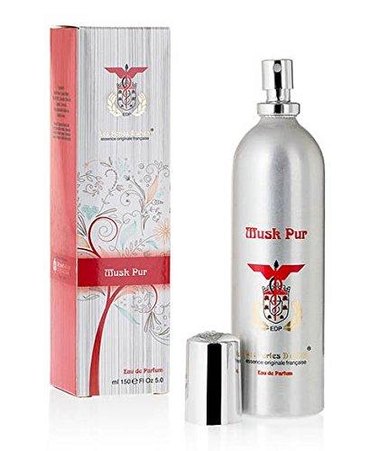 Les Perles d'Orient - Eau de parfum inspirée par Musk by Alyssa Ashley, fabriquée en France, eau de parfum, 150 ml