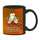 Printland Lets Cheer Black Coffee Mug 350 - ml best price on Amazon @ Rs. 299