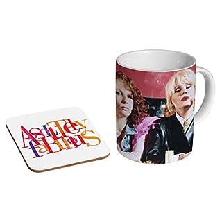 Absolutley Fabulous Ab Fab Ceramic Coffee MUG + Coaster Gift Set …