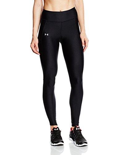 Under Armour Damen Running Kompressionswäsche Hose Legging, Black, XS - Black Running Rock