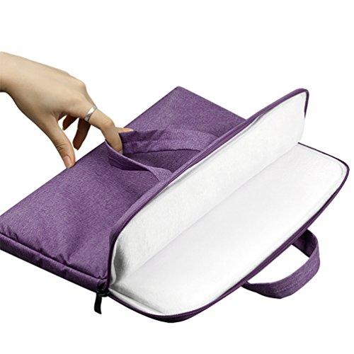 YiJee Sleeve per Laptop Computer Portatile Macbook Air Pro con Display Retina 11.6-15.6 Pollici 14 Inch Porpora