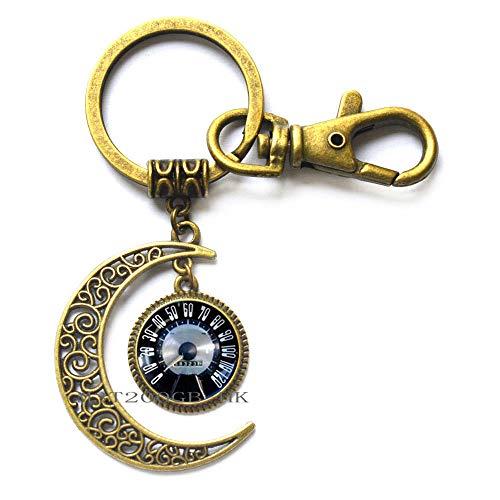 Auto-Geschwindigkeitsmesser Schmuck Schlüsselanhänger, Auto Rennen, Auto, Geschwindigkeitsmesser, Geschenk für Ihn, Geschenke für Papa Schmuck MT352