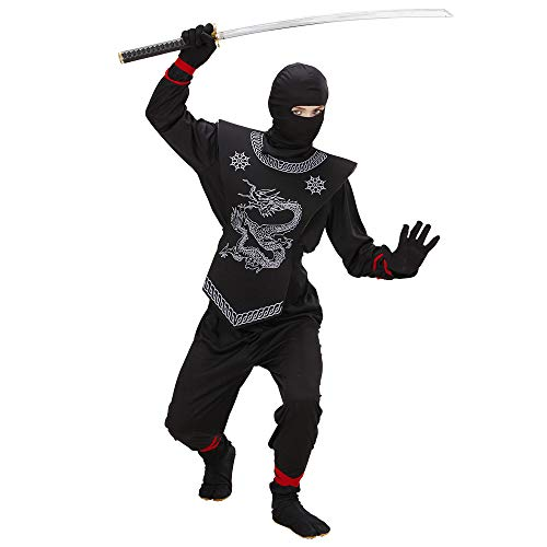 Kinderkostüm Black Ninja