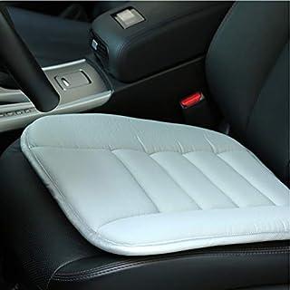 YCLF Auto-Sitzkissen, Bequem Sitzkissen Das Sitzabdeckungs-Auflage, Langsame Rückstoß-Dünne Klimatisierte Sitzabdeckung Abkühlt, Entspannen Muskeln,Lightgrey