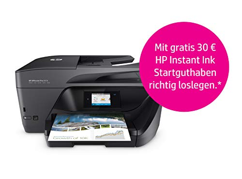 HP OfficeJet Pro 6970 All-in-One-Drucker inklusive 30€ Instant Ink Startguthaben (Drucker Hp 6500)