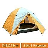 MONTIS HQ JOVIAN - Tente de camping - 3 Personnes - 345x215xH140-3,8kg...