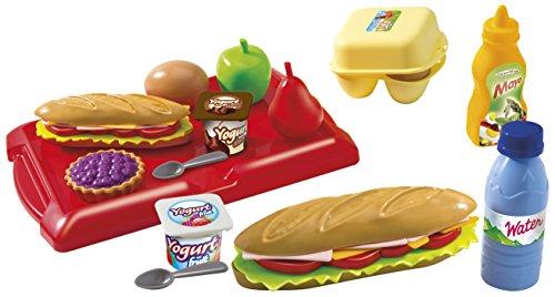 Écoiffier - 7600002630 - Boîte de Sandwich - 14 Pièces