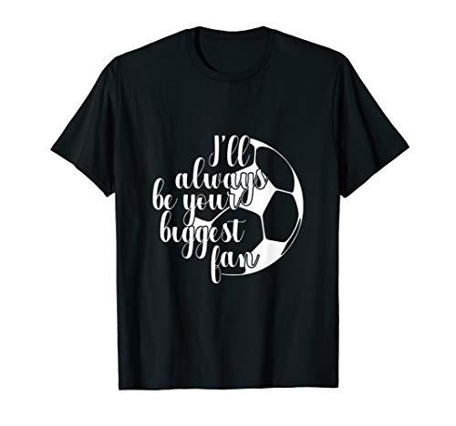 Kostüm Mama Fußball - Ich Bin Immer Dein Größter Fan Fußball Mama Papa T-Shirt