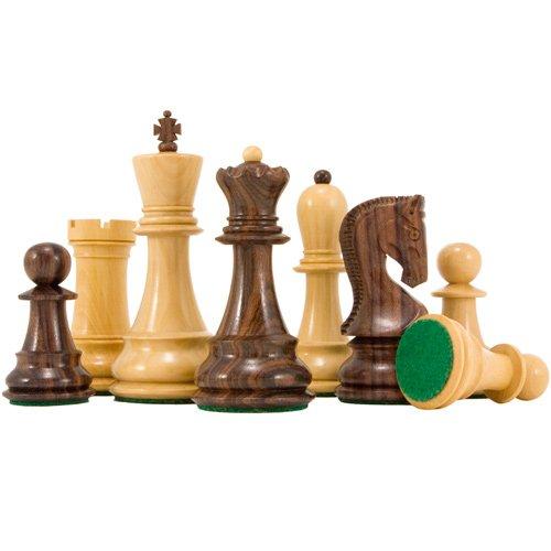 Die Antipodean Serie 10.2cm Rosenholz Staunton schachfiguren - Sockel Schach