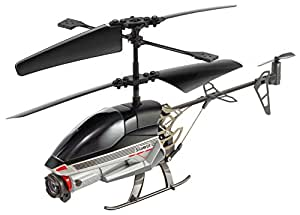 Silverlit Spy Cam-2 2.4GHz 3-Channel Gyro Helicopter with Video Camera (Assorted Colours)