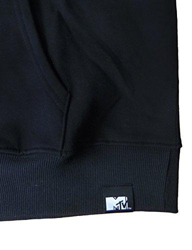 "MTV, Herren Hoodie, ""Pink"", Schwarz Schwarz"