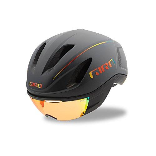 Giro Vanquish MIPS Fahrradhelm, mat Grey fire Chrom, M