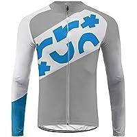 Sports Wear Uglyfrog Hombre Conjunto de Ropa Ciclismo, Maillots de Bicicleta de Manga Larga +