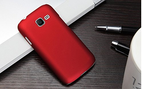 ImagineDesign Rubberised Hard Case For Samsung Galaxy Star Pro S7262 (Maroon Wine Red)  available at amazon for Rs.179