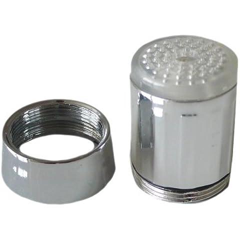 Charmate - Led para grifo de 3 colores (no necesita pilas, funciona con sensor de temperatura, colores verde, rojo y azul)