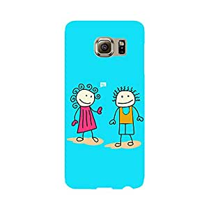 Phone Candy Designer Back Cover with direct 3D sublimation printing for Samsung Galaxy S6