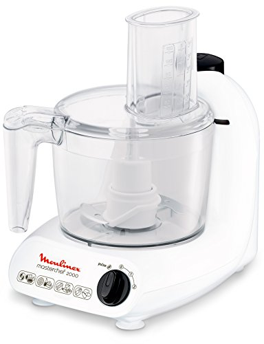 Moulinex FP211110 Master Chef Robot Multifonctions Blanc