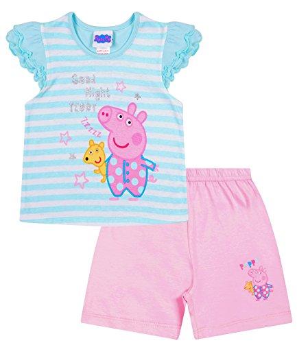 Peppa Pig Good Night Teddy Peppa Short Pyjamas Kids PJ Sets (2-3 Years)