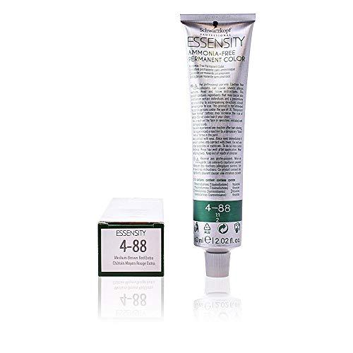 Schwarzkopf Professional Essensity Permanent Color Ammonia Free Tinte Tono 4-88 - 60 ml