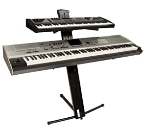 Ultimate Support Ax48b Keyboard Stand Black Amazon Co