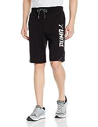 Puma Mens Cotton Shorts (4057826948135_59386001_X-Small_Cotton Black)