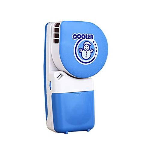 Mini USB Ventilator, PLOT Klimagerät Mobil Air Cooler Luftreiniger Raumluftkühler Tragbare Klimaanlage für Laptop Computer Desktop Büro und Outdoor Reisen