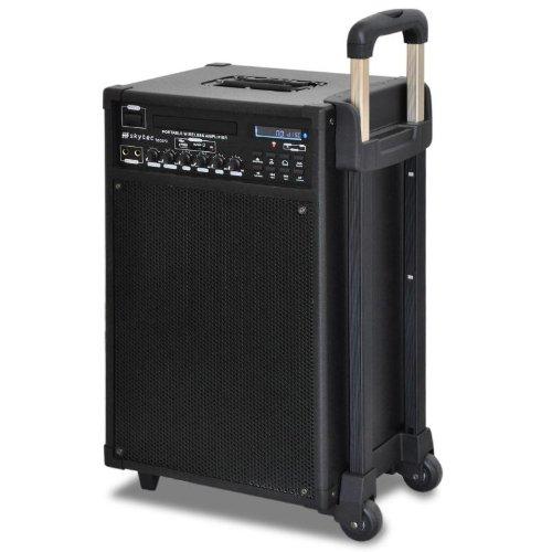 Skytec PA DVD CD VGA System Set Karaoke-Anlage + 2 Mikros