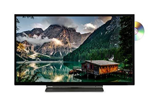 Toshiba 32WD3A63DA (32 Zoll) Fernseher (HD ready, Triple Tuner, Smart TV, Prime Video, Bluetooth, Works with Alexa, DVD-Player integriert)