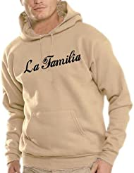 Touchlines Herren La Familia Kapuzen Sweatshirt B7097
