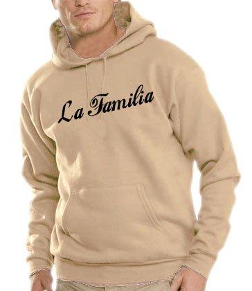 Touchlines Herren La Familia Kapuzen Sweatshirt sand XL Preisvergleich