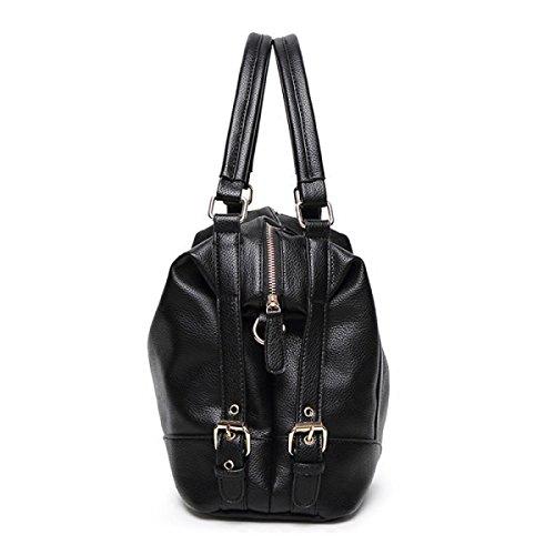 Womens Handbag Autunno Inverno Moda Ladies Shopper Partito Di Cuoio Retro Banchetto Grande Borsa Beige