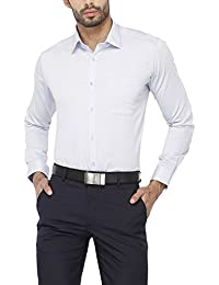 Stop by Shoppers Stop Mens Slim Collar Self Pattern Shirt