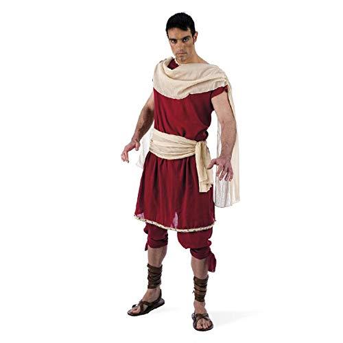 Heros - Costume Da Dio Greco - Set In Due Pezzi - Tunica E Pantaloni - Da Uomo Per Carnevale - L